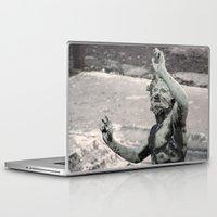 roman Laptop & iPad Skins featuring Copper Roman by Upperleft Studios