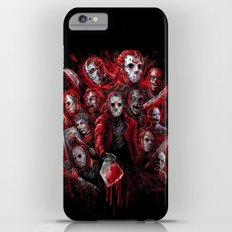 Jason Voorhees Friday the 13th Many faces of  iPhone 6s Plus Slim Case