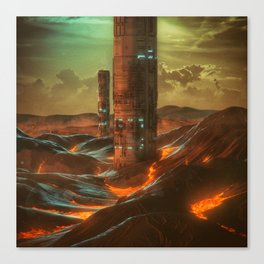 X1.TERRAFORM (YEAR ZERO) (everyday 09.18.15) Canvas Print