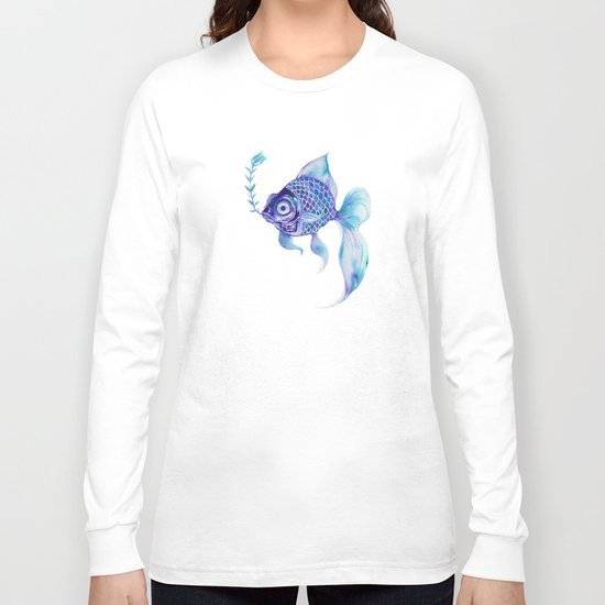 Baby Blue #5 Long Sleeve T-shirt