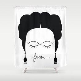 Frida As Frida Shower Curtain