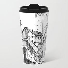 Old Square, Bergamo Travel Mug