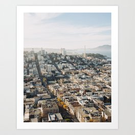 Fall in San Francisco Art Print