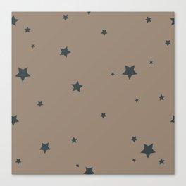 Star Pattern Canvas Print