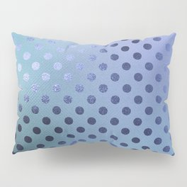 Minimalist Pattern With Iridescent Blue Circles 27 Pillow Sham