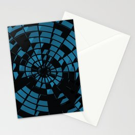 Abstract Dartboard Stationery Cards