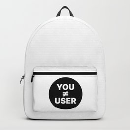 UX Designer - You Are Not The User Backpack