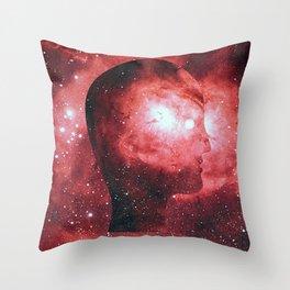 Head Space (No.3) Throw Pillow