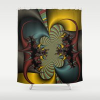 wicked Shower Curtains featuring Wicked by Christy Leigh