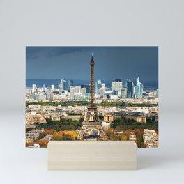 paris landscape  Mini Art Print