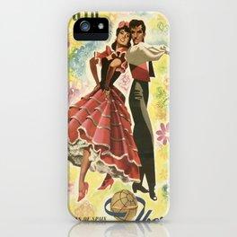 Vintage poster - Spain iPhone Case