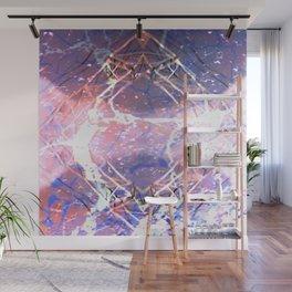 Abstract Ripple Reflection Wall Mural