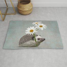 Hedgehog in love Rug
