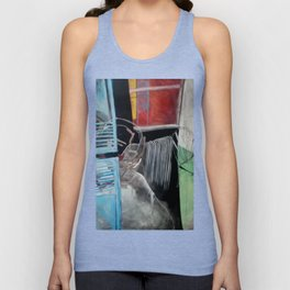 The Lights Were on all Night Unisex Tank Top