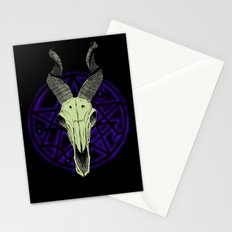 Black Goat of the Woods Stationery Cards
