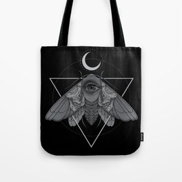 Occult Moth Tote Bag