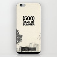 500 days of summer iPhone & iPod Skins featuring (500) Days of Summer by Martin Lucas