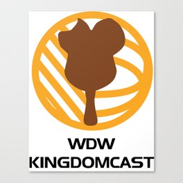 WDW Kingdomcast - Classic logo Canvas Print