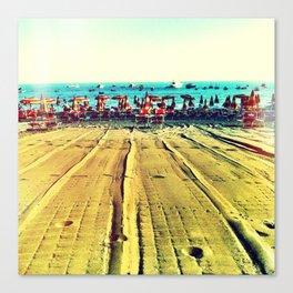 la spiaggia Canvas Print