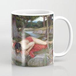 John William Waterhouse - Echo and Narcissus Coffee Mug