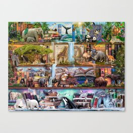 The Amazing Animal Kingdom Canvas Print