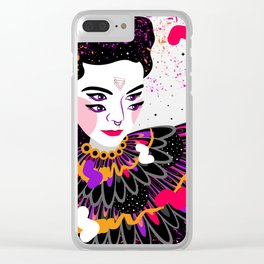 The dreams of Björk Clear iPhone Case