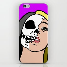 dead inside iPhone Skin