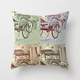 Carriages Throw Pillow