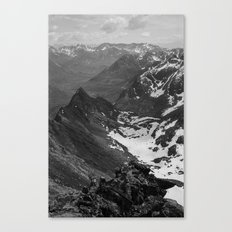 Archangel Valley Canvas Print
