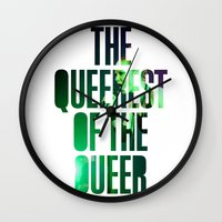 queer Wall Clocks featuring Garbage - 'Queer' lyrics by Rebecca Houlden