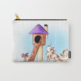 Cat Condo Housewarming Carry-All Pouch