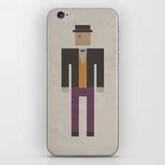Retro Penguin iPhone & iPod Skin