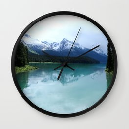 The Spirit of Maligne Lake Wall Clock