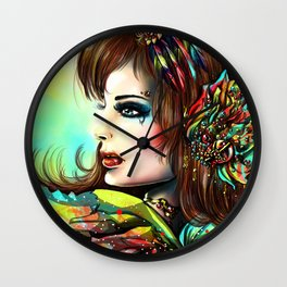 VICTIM Wall Clock
