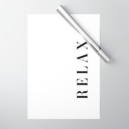 Relax Wrapping Paper