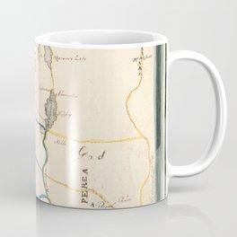Map of Palestine or Canaan Coffee Mug