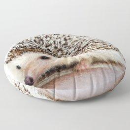 Geometric Hedgehog Floor Pillow