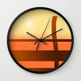 Sunny side Wall Clock