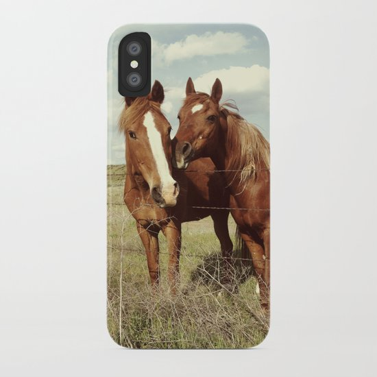 Horse Affection iPhone Case