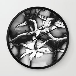 Salad Days Wall Clock