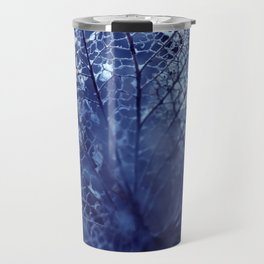 Disintegration in Blue Travel Mug