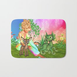 Magical Day With Friends Bath Mat