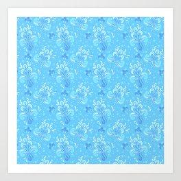 fleur de otachi - light Art Print