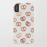 oana befort iPhone & iPod Cases featuring PRETZELS by Oana Befort