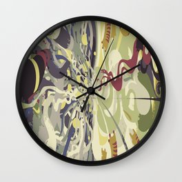 Never Free Never Me Wall Clock