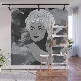Etta James Wall Mural