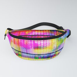 Databending #2 (Hidden Messages) Fanny Pack