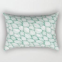 sincerity, fairness, intimacy, singleness, ingenuousness Rectangular Pillow