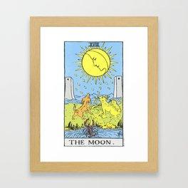 18 - The Moon Framed Art Print