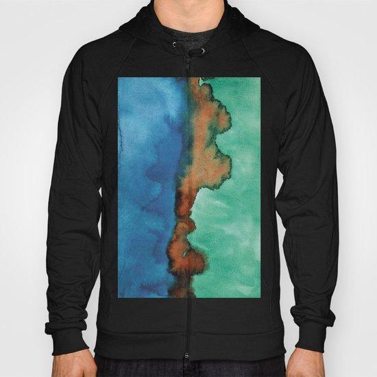 Abstract Watercolor V Hoody
